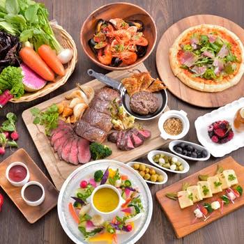 【平日限定】ご好評につき期間延長!旬の食材をお好きなだけ!4月からは九州三大銘柄牛ブッフェを開催!