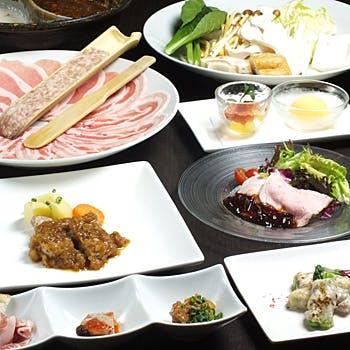 【乾杯ドリンク付×やまと豚を堪能】上質なやまと豚を使った料理長おすすめ、ワンランク上の特別ディナー