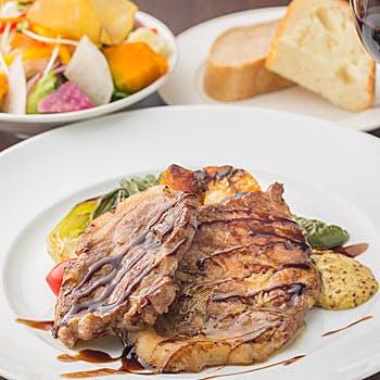 【スパークリングで乾杯】鮮度抜群の食材で前菜,メイン,ドルチェカフェが 選べるプリフィクス!1800円