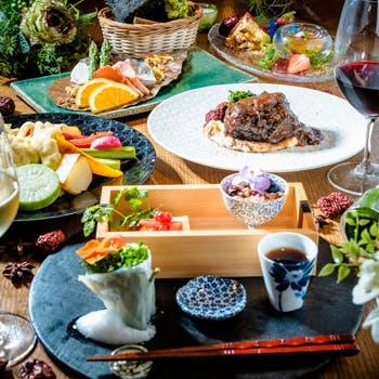 オーガニック野菜 × バルkitchen kampo'sの写真