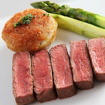 【平日限定】はじめての方にお勧め!平日限定 メインディッシュが選べるランチ鉄板焼コース