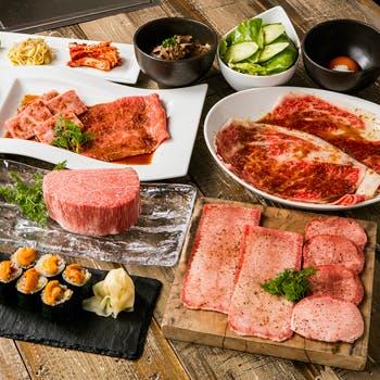 【最上級】日本一のサーロインユッケ,プラチナタン,シャトーブリアンなど含む最上級セレブプラン