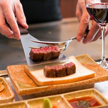 宮崎牛鉄板焼ステーキ みやざき館の写真