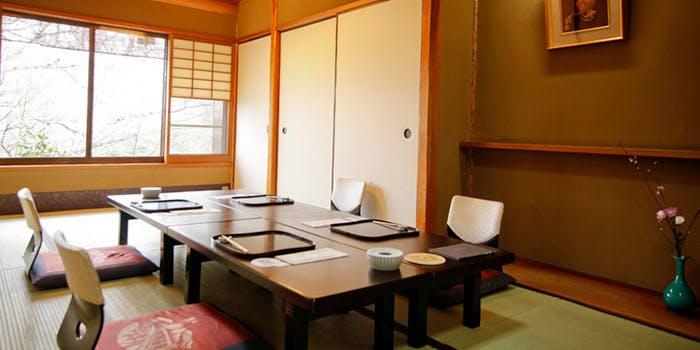 2位 渡月橋畔の数寄屋造りで桜宿膳ランチ!「京嵐山 錦」の写真1
