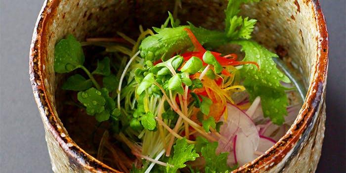 日本焼肉はせ川のおすすめサラダ