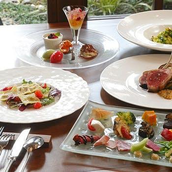 【シェフおまかせ特別コース】旬の食材で仕上げるオリジナル贅沢ディナーコース