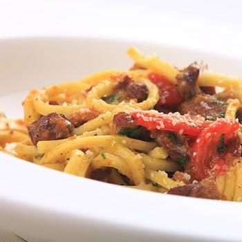 【和の空間でいただくイタリアン】新鮮食材を使用した一皿や本日のパスタ2種にドルチェなど全5品のコース