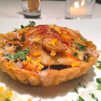 【季節のおまかせコース】旬の食材と共に「オストゥ」の味をご堪能!前菜+パスタ+メイン+デザートの4品