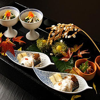 【星付き店のおまかせコース】個室確約!厳選した旬の食材をその日の最高の調理にてご堪能いただきます