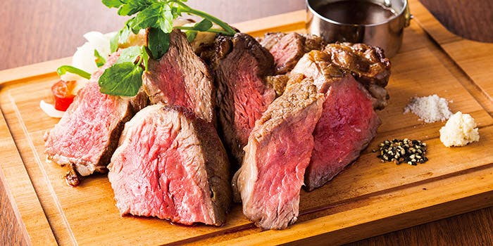 岩手県産黒毛和牛門崎熟成肉のグリル 450g 4,900円(税別)
