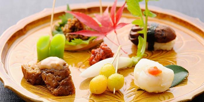 揚げ物、甘味付 竹懐石ランチコース