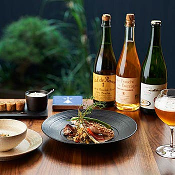 ル ブルターニュ バー ア シードル レストランの写真