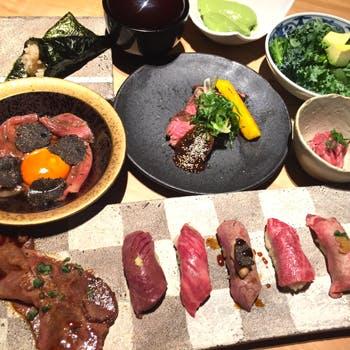 肉寿司肉和食KINTANコレド室町の写真