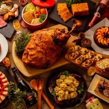 10月【日〜木限定】自慢のローストビーフや、デザートブッフェも!月替わりのディナーブッフェ約20種以上