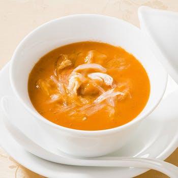 【乾杯スパークリング付】名物うにふかひれスープ、下関真ふぐ、米沢豚スペアリブ豪華食材を味わう全8品