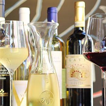 【飲み放題付LUNCH】昼飲み!2時間制!イタリアンをカジュアルに、お酒と共に至福のひと時をご提供!