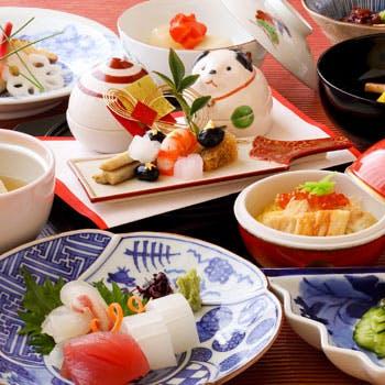 【堀川】前菜、お造り、焼物 、焚合せ、デザートなど全10品!自然本来の繊細な味わいをお愉しみください