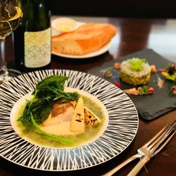 【乾杯ドリンク&食後のカフェ付】メインは季節のお魚料理!旬の美味しい海の恵みを新…
