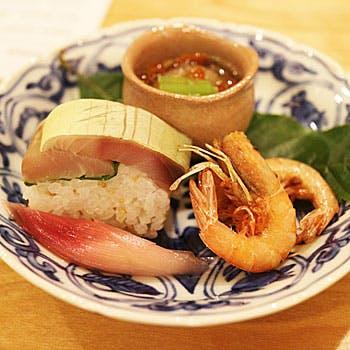 旬の滋味溢れる野菜や近海天然魚を使用した最高級コース 全9品