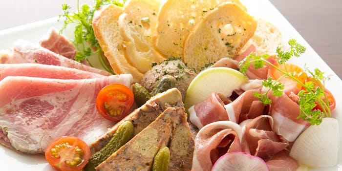 フランス料理のアミューズ