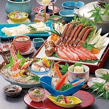 個室確約【渡月(とげつ)】人気のかにしゃぶを堪能できる会席料理 全9品