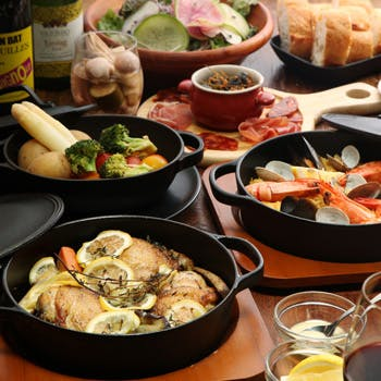 鉄鍋ビストロ&ワイン デリカージュ赤坂の写真