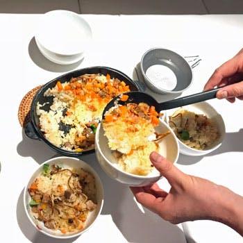 歓送迎会向け 同じ釜の飯を食う洋食コース