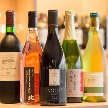 【一休限定】ソムリエが選ぶワイン2杯付!シェフが目の前で腕を振るう料理と70種類以上のブッフェをご堪能