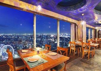 アーティスト カフェ/東京ドームホテル43Fの写真
