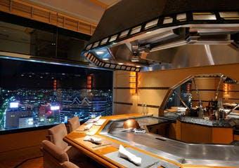 鉄板焼 然荘/ホテル クラウンパレス 神戸17階の写真