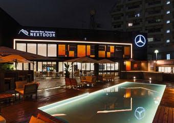 Mercedes me Tokyo NEXTDOORの写真