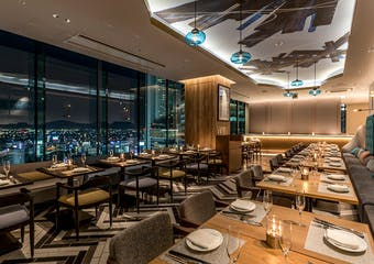 The Living Room with SKY BAR/三井ガーデンホテル名古屋プレミア 18階の写真