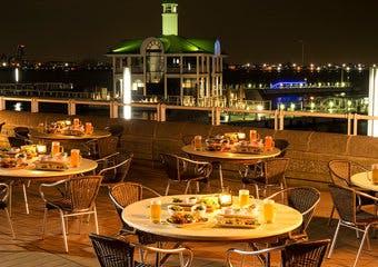 海の見えるビアテラス「はまビア!」/ヨコハマ グランド インターコンチネンタル ホテル