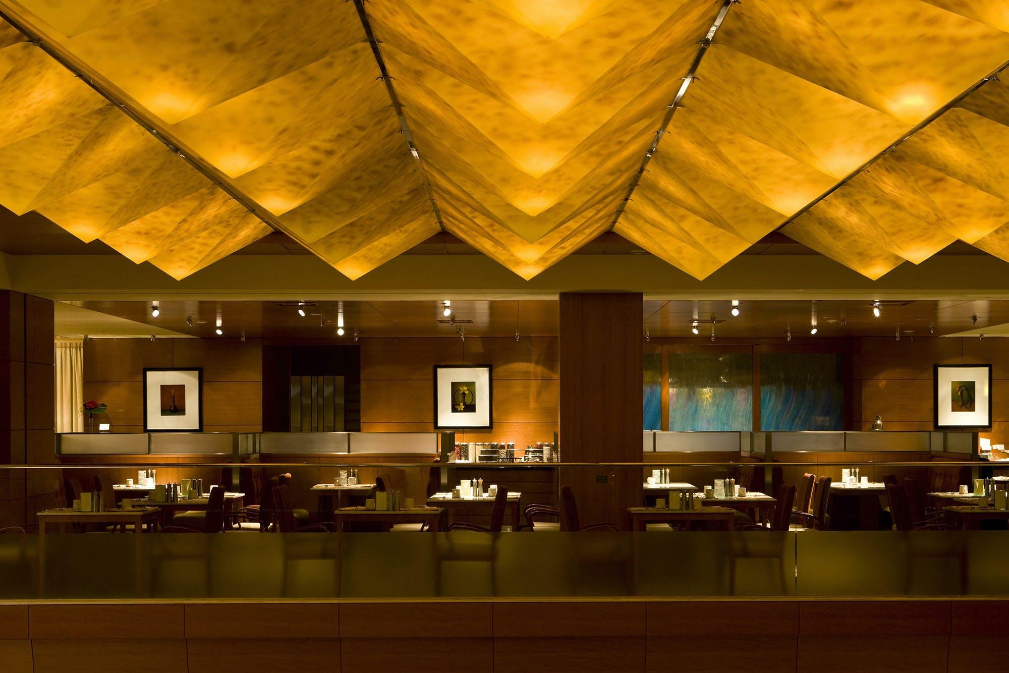 カフェレストラン アクアブルー/ウェスティン都ホテル京都