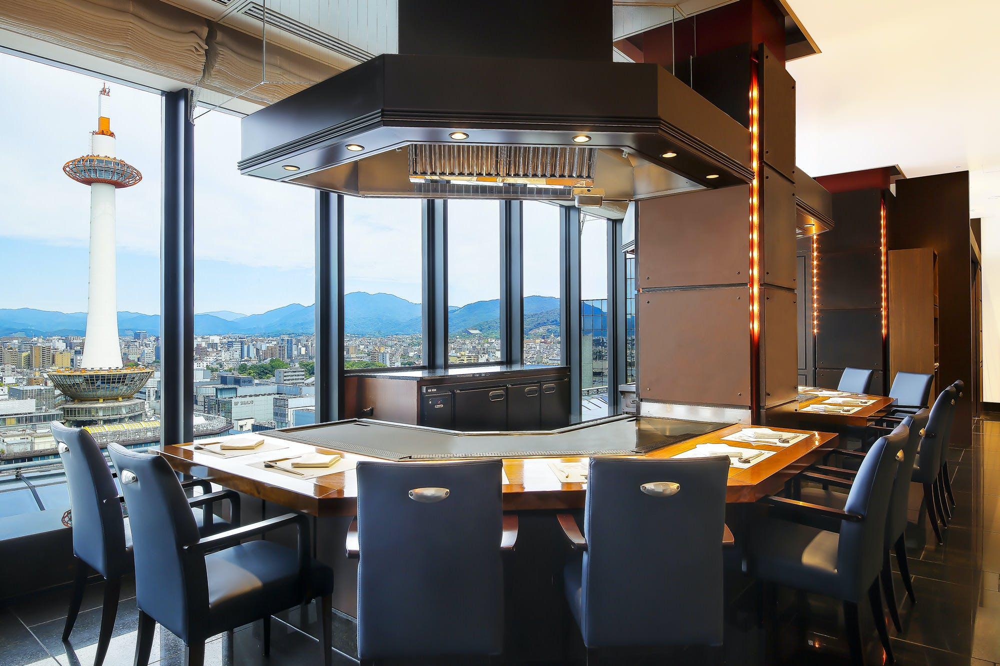 鉄板焼 五山望/ホテルグランヴィア京都