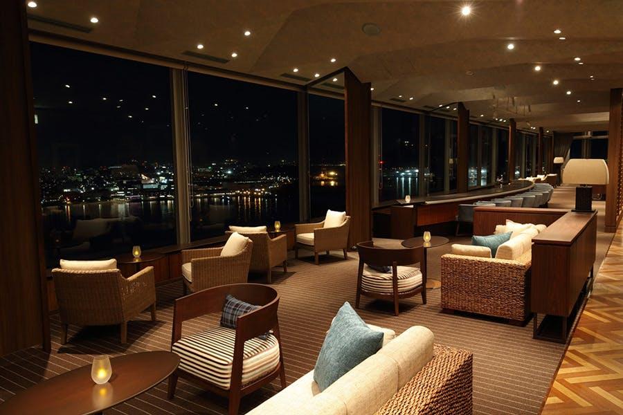 スカイラウンジ トップ オブ ヒロシマ/グランドプリンスホテル広島