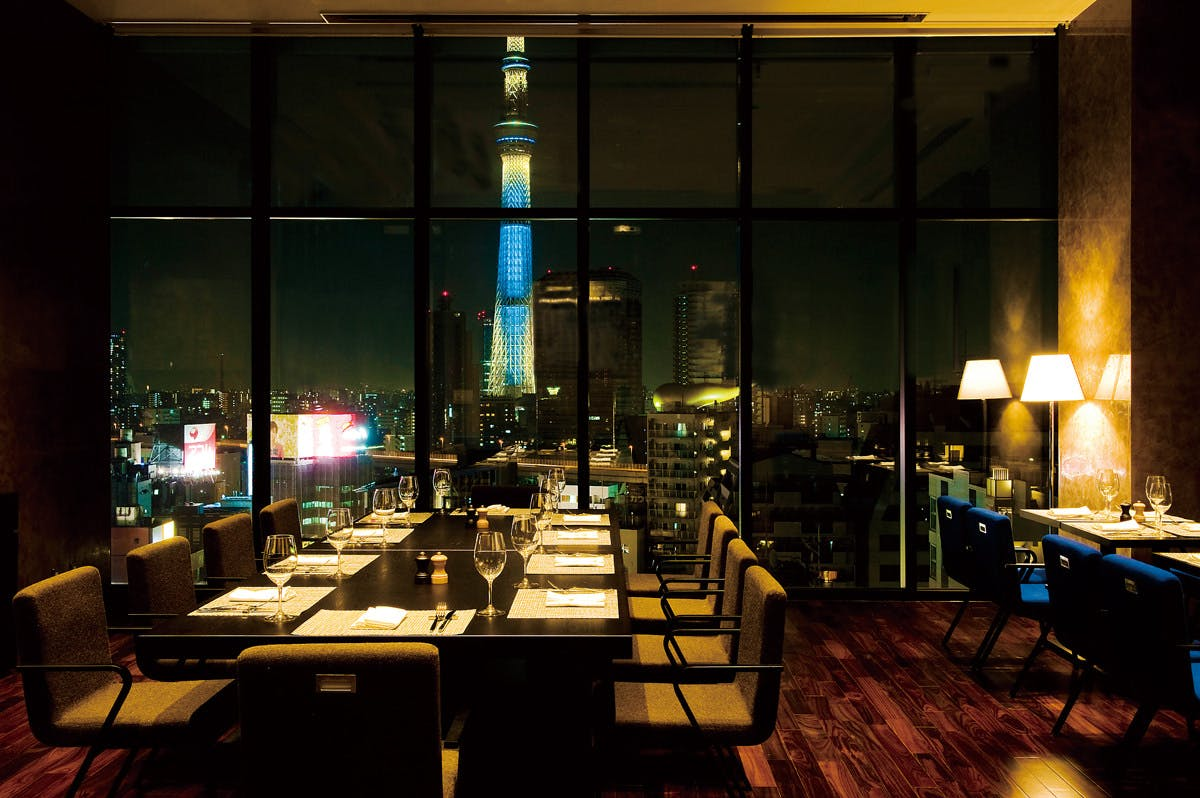 R Restaurant & Bar/ザ・ゲートホテル雷門13F