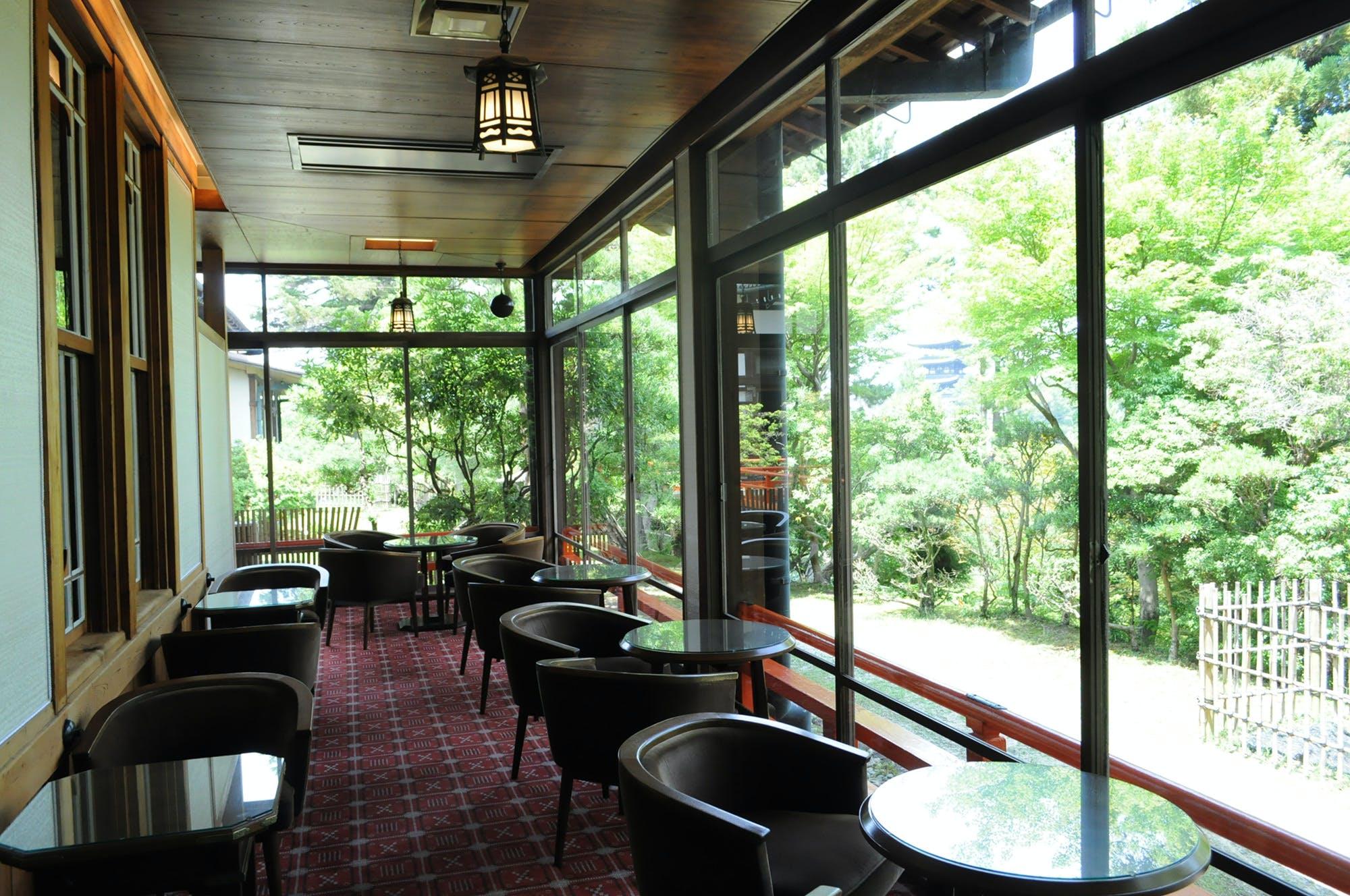 ティーラウンジ/奈良ホテル
