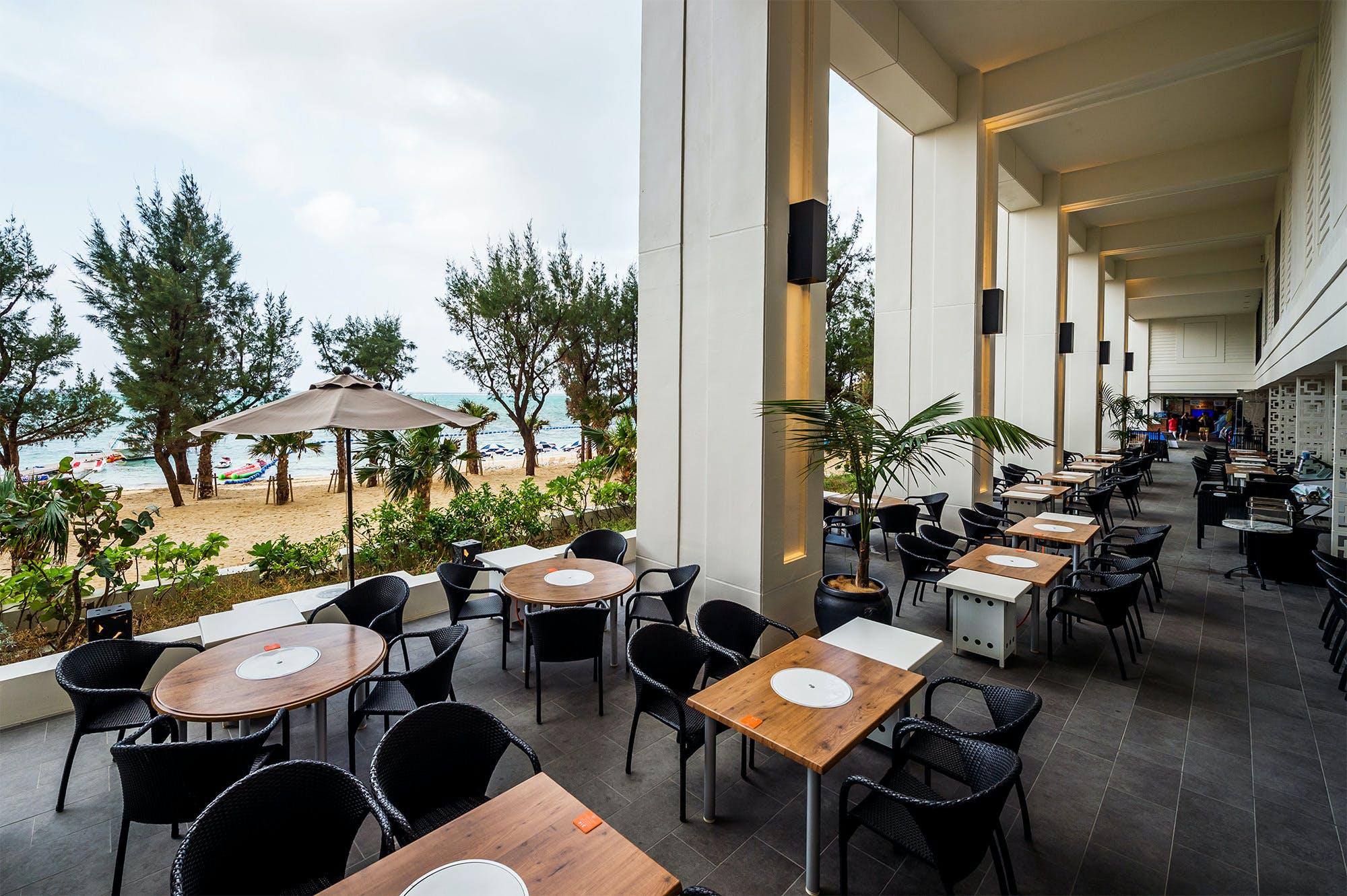 BBQレストラン タイガービーチカフェ/ホテルモントレ沖縄スパ&リゾート