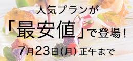 人気プラン最安値 7/9~7/23